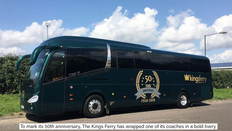The Kings Ferry's 50th Anniversary