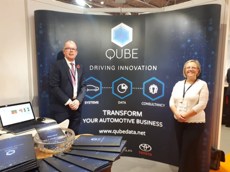 Qube Automotive Consultants showcase new system at the NEC