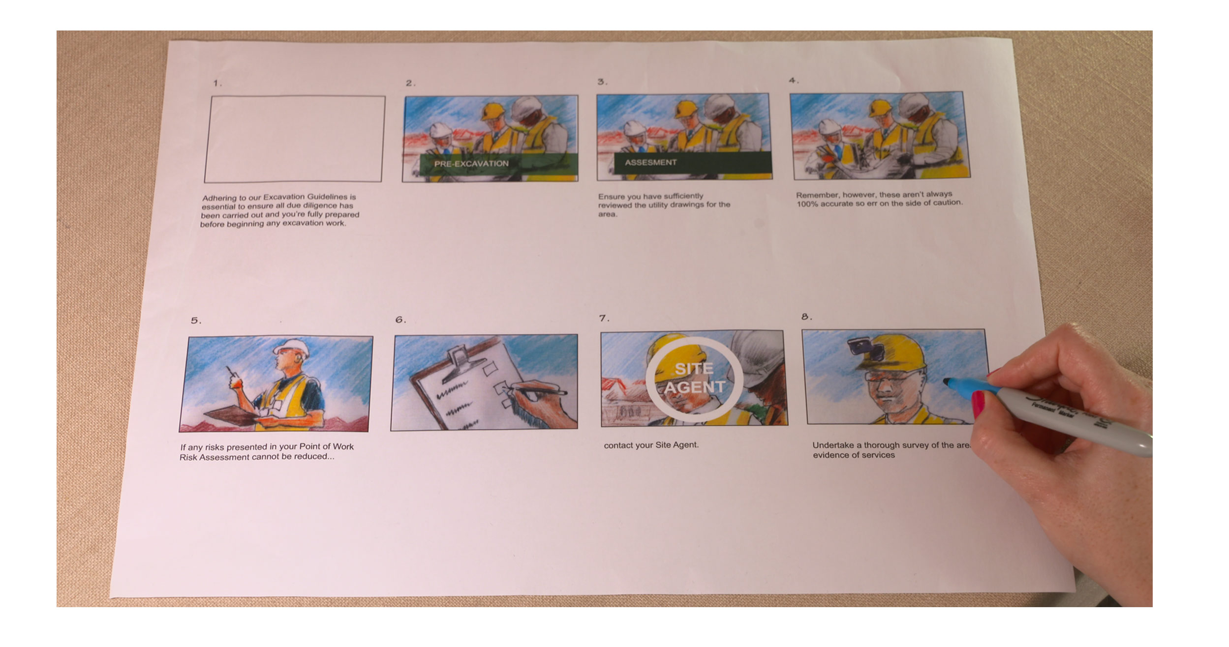 Storyboard your video with Adams