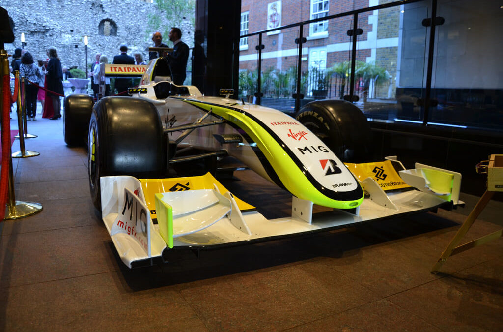 adams creative brawnGP F1 car