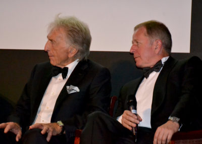 adams creative derek bell martin brundle lemans dinner