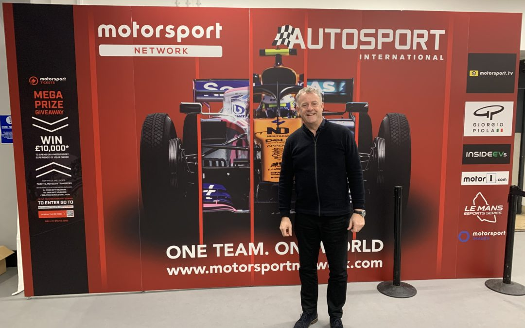 Nicholson McLaren Attend the Autosport show