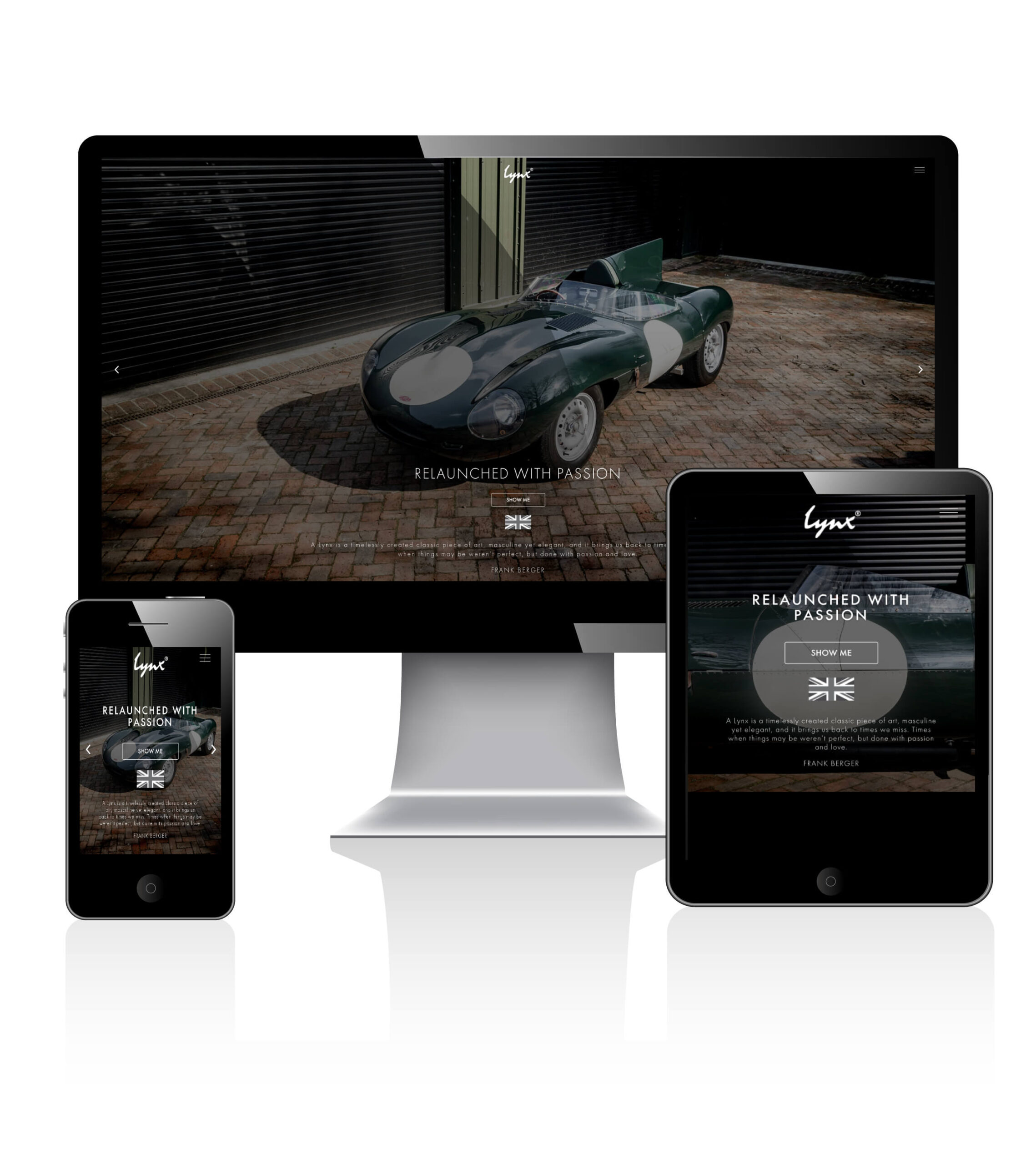 lynx motors responsive web development