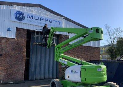 Muffett Engineering Signage
