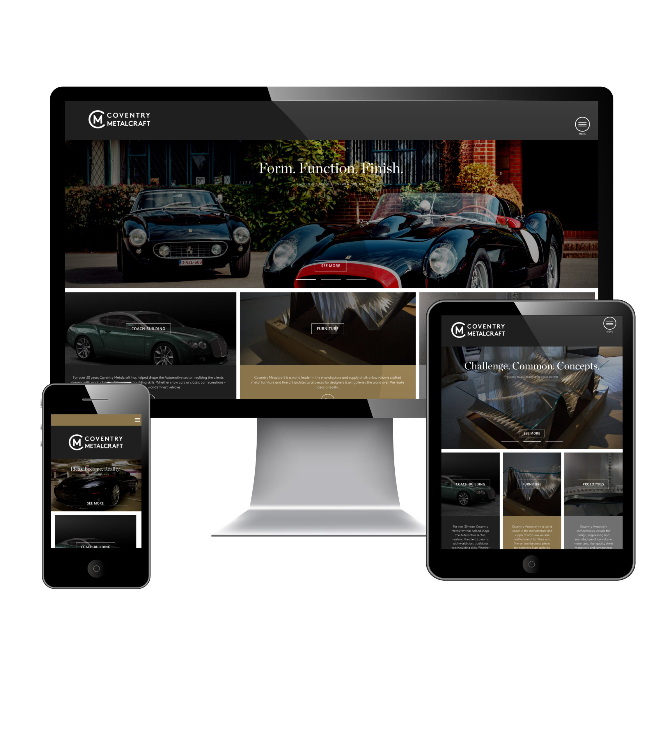 Adams launches new website for legendary coachbuilders