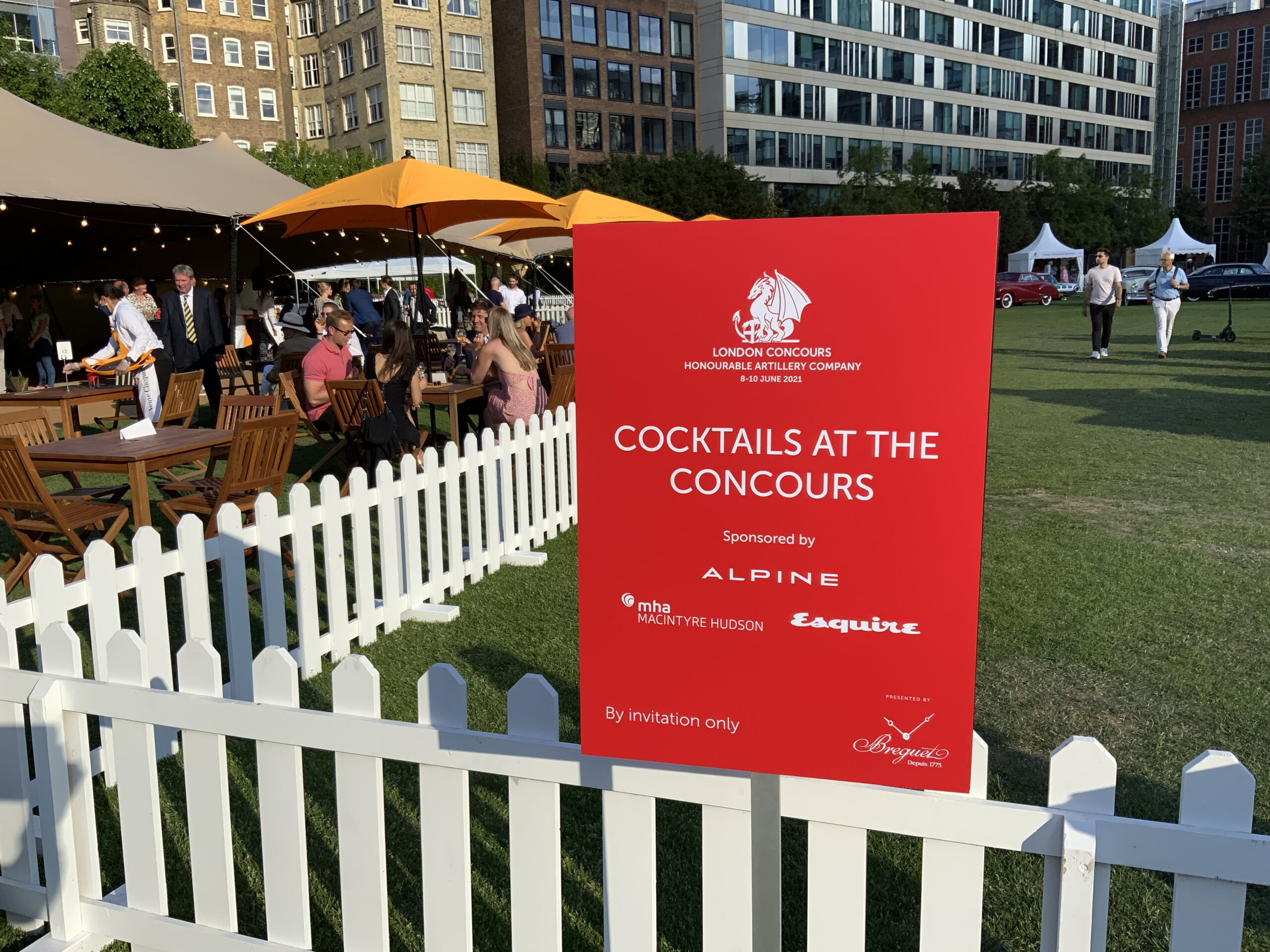 Cocktails on the Concours